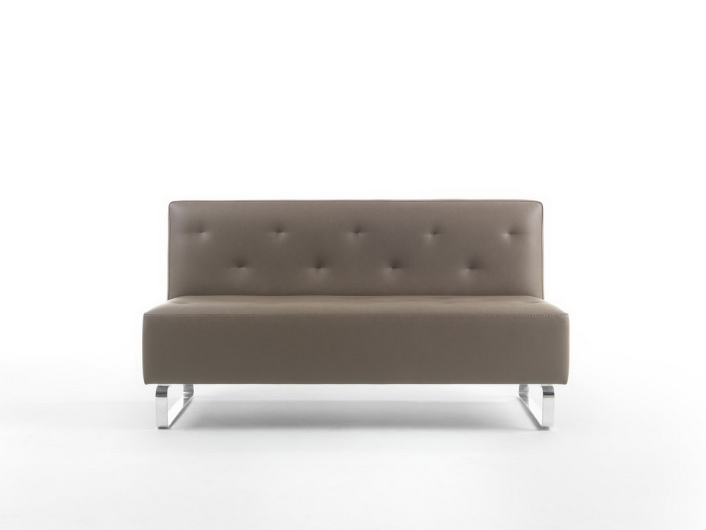 Sedio bay sofa no arms for Sofa with only one arm